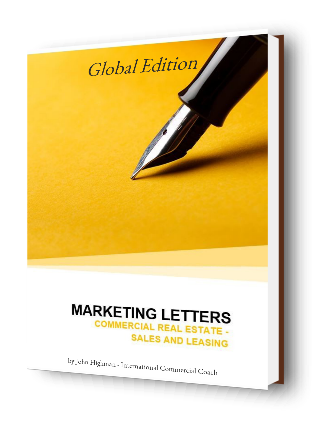 marketing letters in commercial real estate brokerage