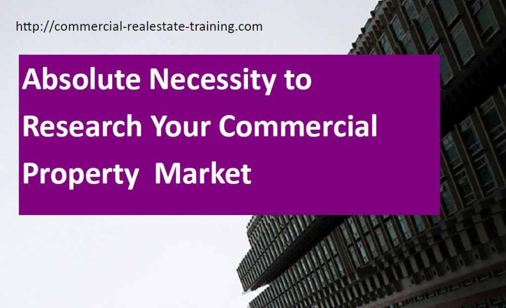 how to research the local commercial property market