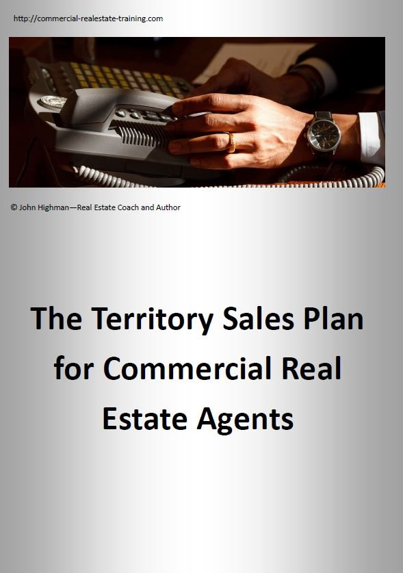 special report on sales planning in commercial real estate brokerage