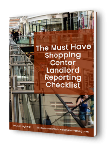 ebook landlord report format shopping centers