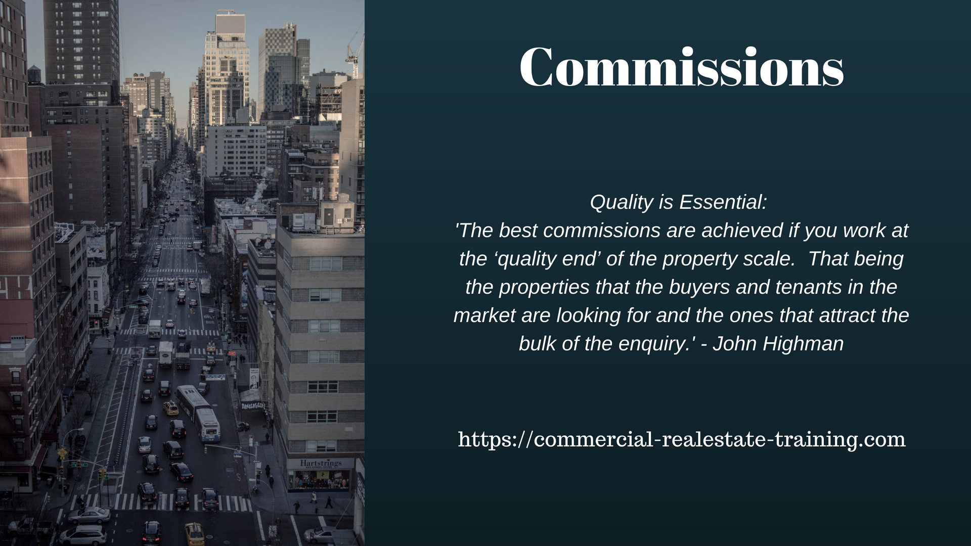 Wallpaper For Brokerage Commission Focus Commercial Real Estate Training
