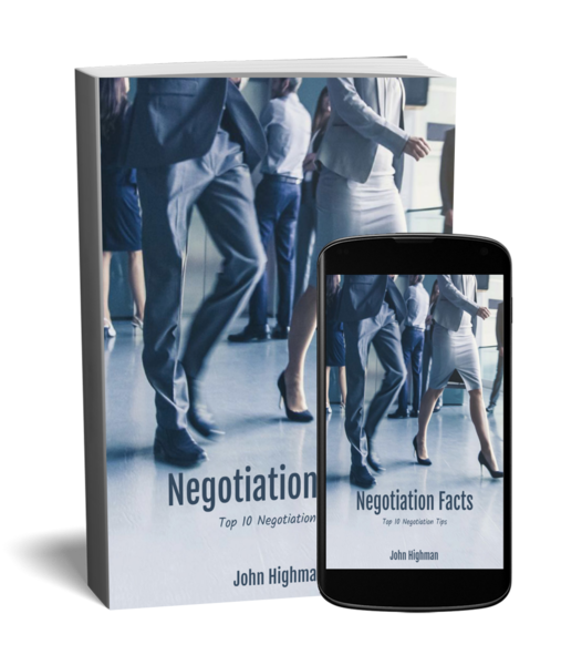 special negotiation checklist by John Highman for commercial real estate agents and brokers