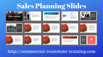 sales plan slides for commercial real estate